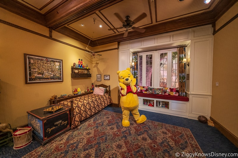 Winnie the Pooh Character Meet and Greet in Epcot