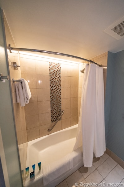 Bay Lake Bathroom Shower
