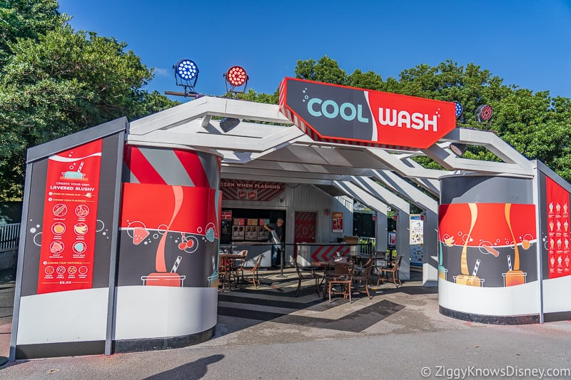 Cool Wash 2019 Epcot Food and Wine Festival marketplace