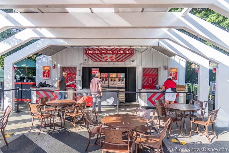 inside Cool Wash 2019 Epcot Food and Wine Festival