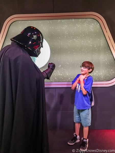 Darth Vader Character Meet DVC Moonlight Magic