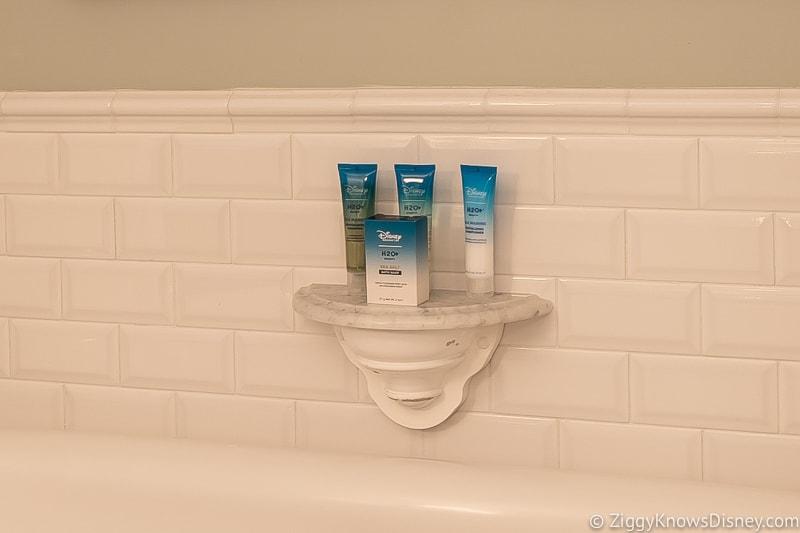 mini toiletry bottles shampoo and soap Disney World