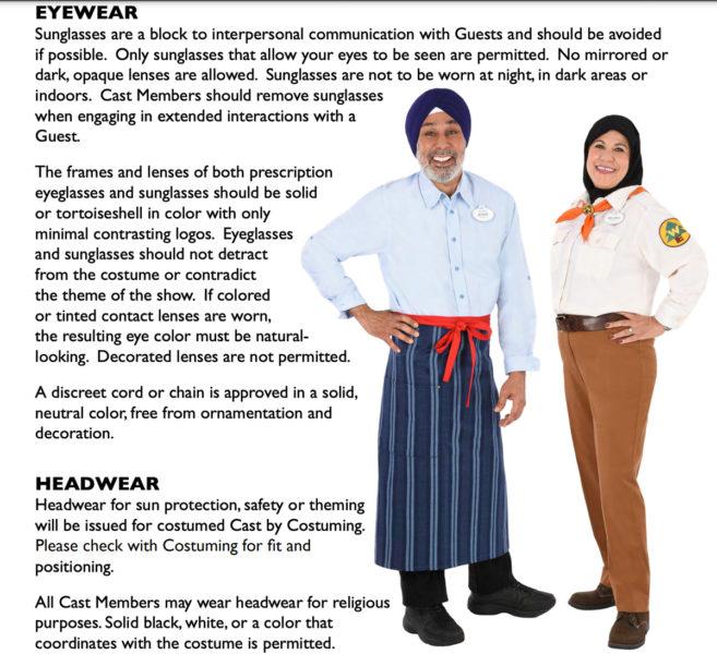 Disney Look Guidelines