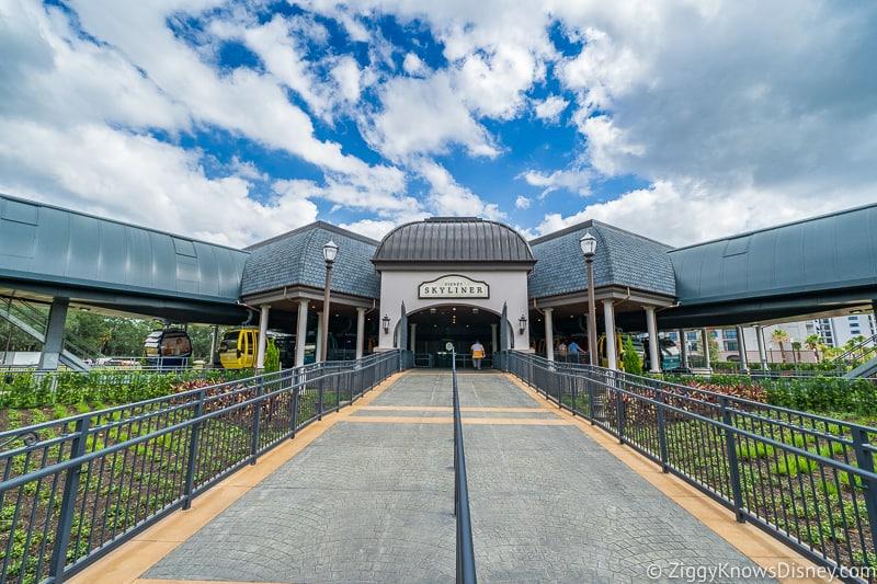 Disney Skyliner Station Riviera Resort