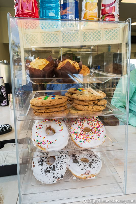 Disney Skyliner Gondola Stations Caribbean Beach Resort Joffrey's donuts