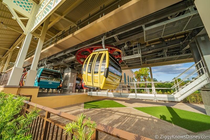 landing Disney Skyliner Gondola Stations Caribbean Beach Resort