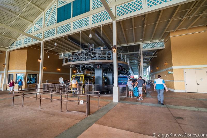 Disney Skyliner Gondola Stations Caribbean Beach Resort Hollywood Studios line