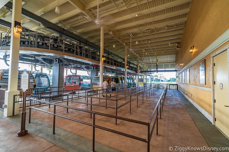 Disney Skyliner Gondola Stations Caribbean Beach Resort Pop Century Line