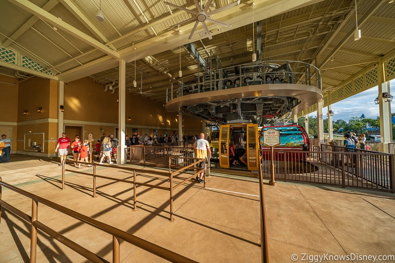 Disney Skyliner Gondola Stations Caribbean Beach Resort Epcot Line