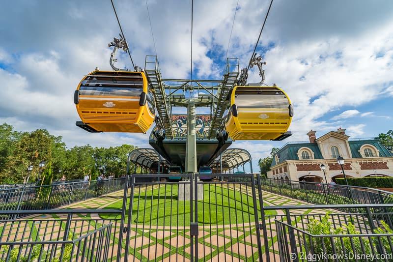 Disney Skyliner Gondola refurbishment