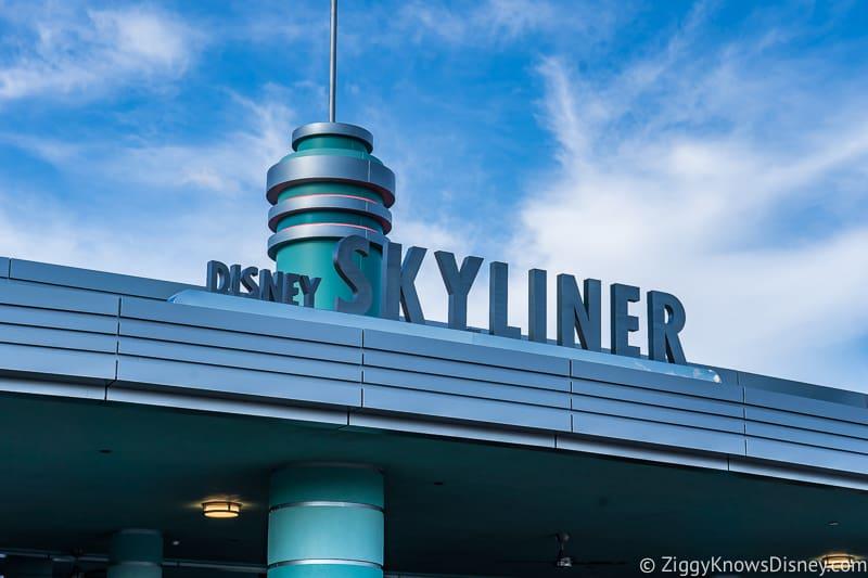 Disney Skyliner Gondola Station Sign Hollywood Studios