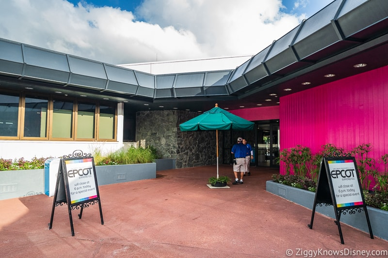 Epcot Experience Odyssey Entrance