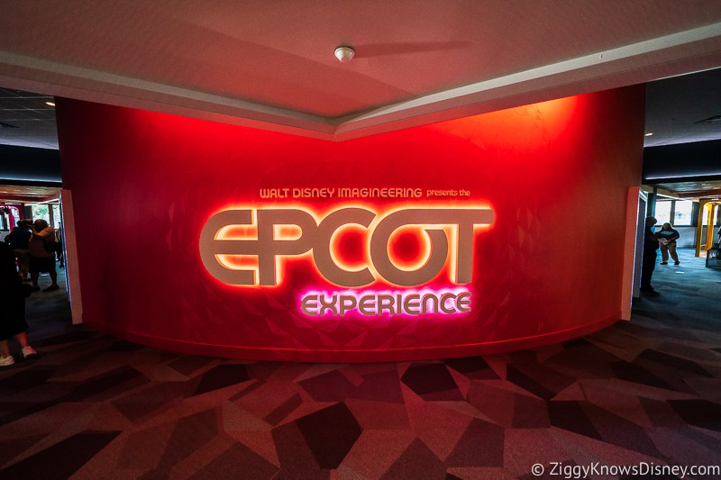Epcot Experience Odyssey Sign