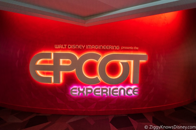 Epcot Experience Odyssey Sign 2