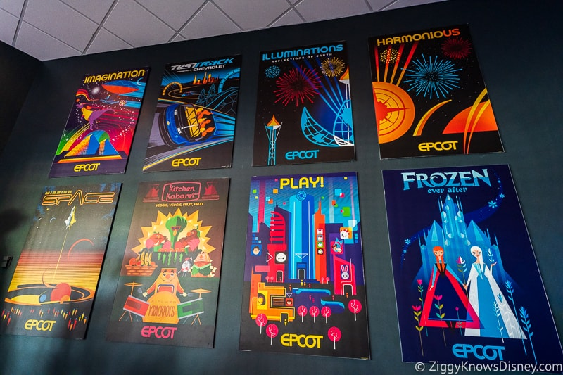 Epcot Experience Odyssey Epcot Pavilion Displays 4