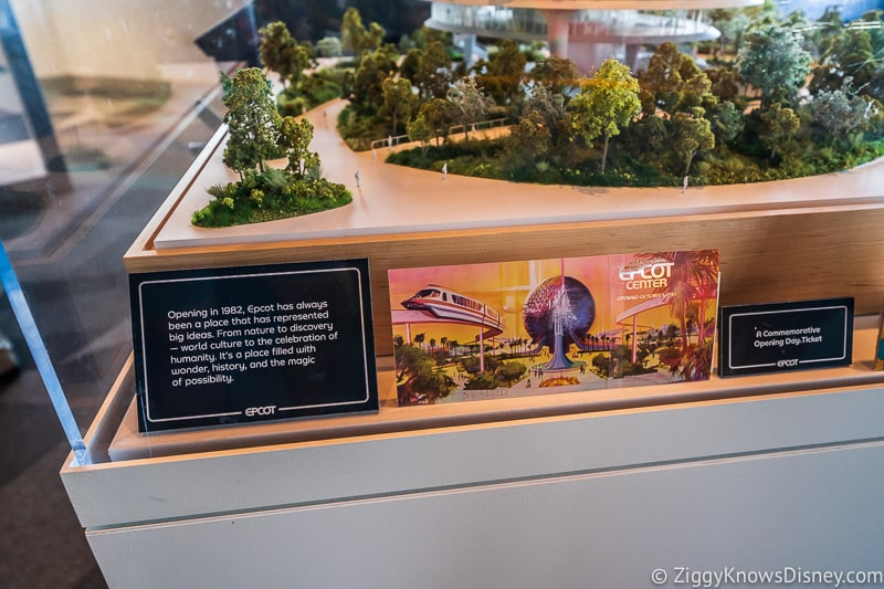 Epcot Experience Odyssey Epcot Models and Display Festival Center Display 4