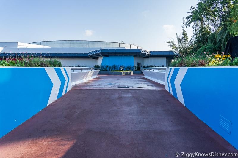 Epcot Experience Odyssey walkway