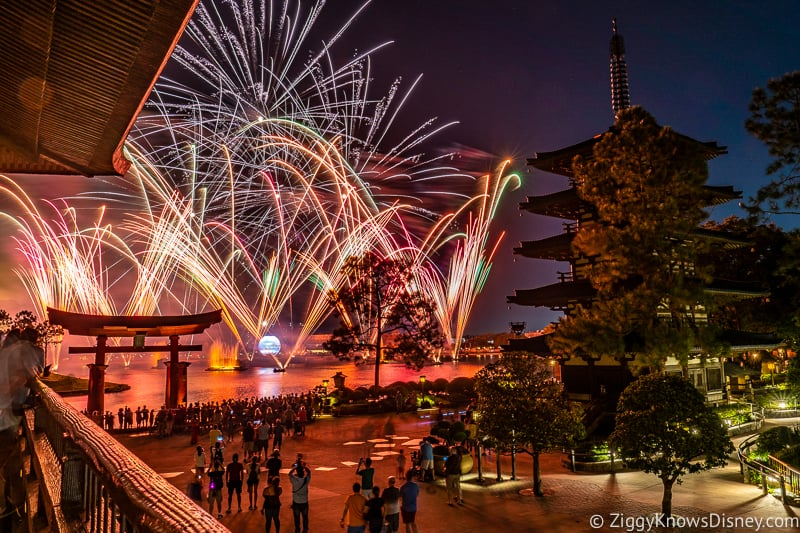 Epcot Illuminations: Reflections of Earth photos Japan 2