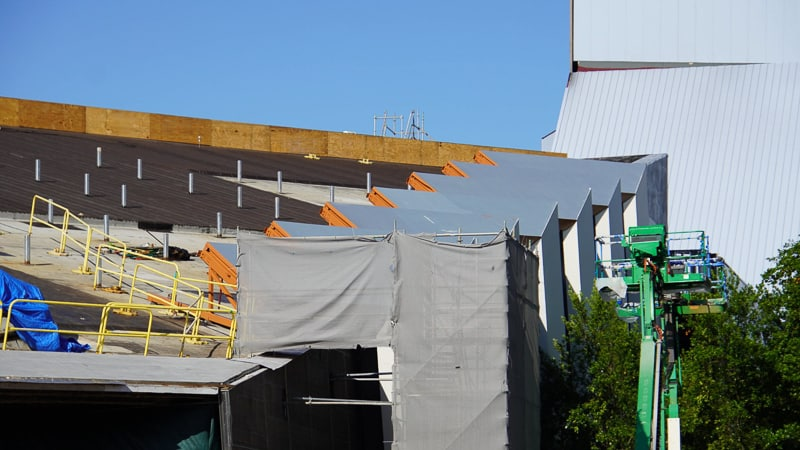 roof Guardians of the Galaxy Coaster updates October 2019