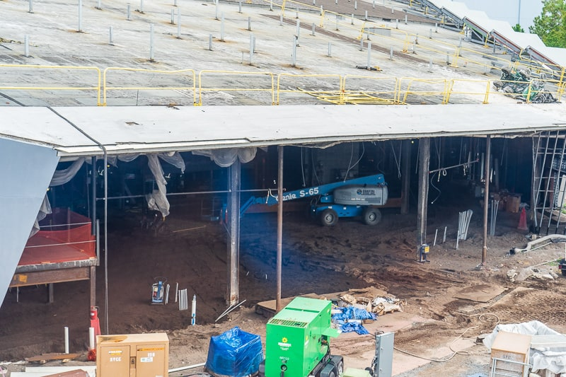 inside front of Guardians of the Galaxy Coaster updates October 2019