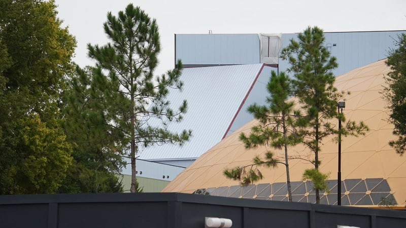 top of tunnel Guardians of the Galaxy Coaster updates October 2019