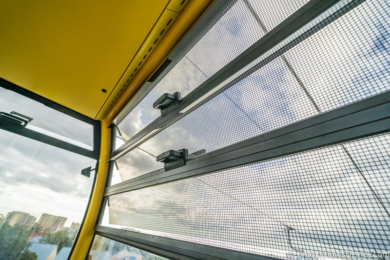 Vents Inside the Disney Skyliner Gondolas