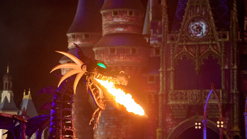 Disney Villains After Hours Maleficent float