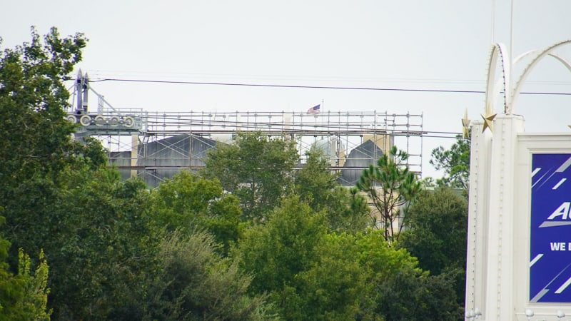roof Ratatouille Ride facade from Yacht club construction updates October 2019