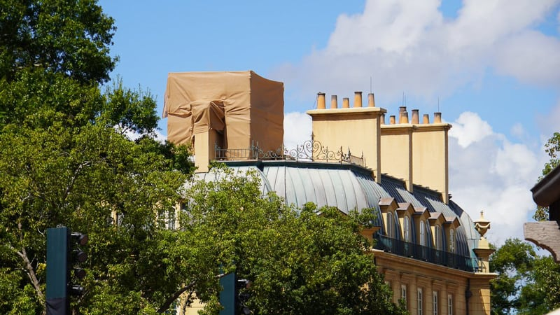 roof Ratatouille Ride construction updates October 2019
