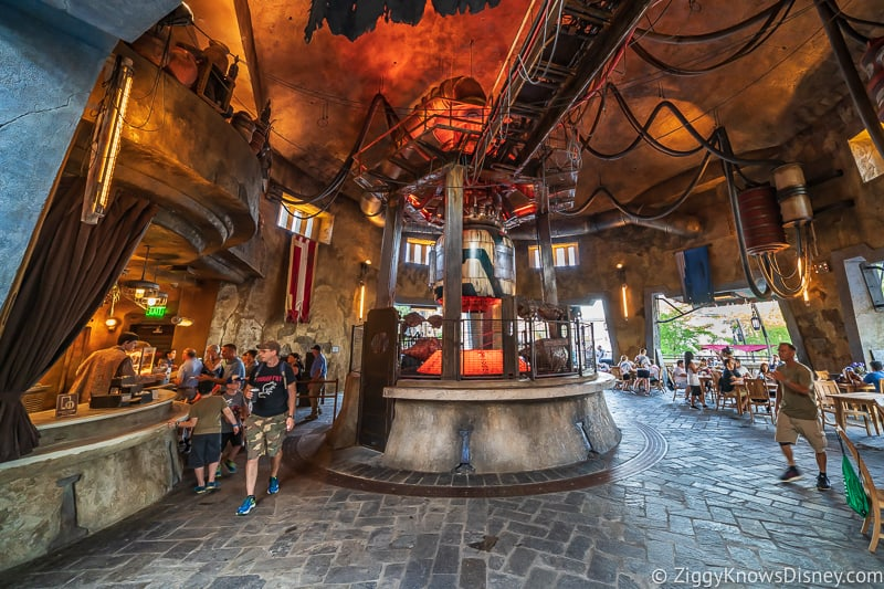 inside of Ronto Roasters Star Wars Galaxy's Edge