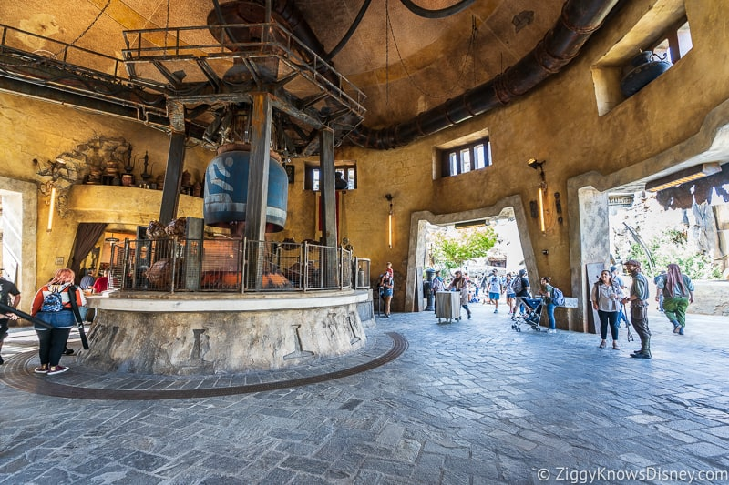 Ronto Roasters inside Star Wars Galaxy's Edge