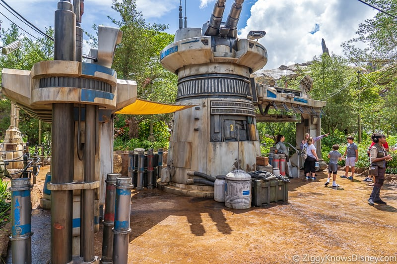 Rise of the Resistance entrance in Star Wars Galaxy's Edge