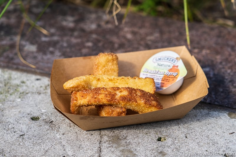 Best Snacks at Animal Kingdom French Toast Sticks