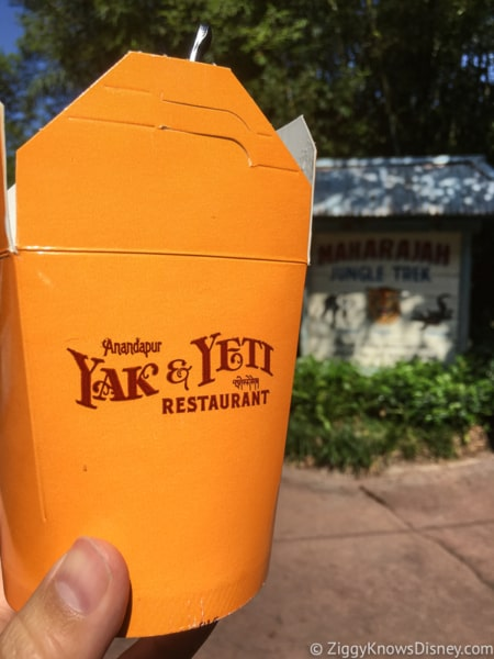 Best Snacks at Animal Kingdom chicken fried rice yak and yeti