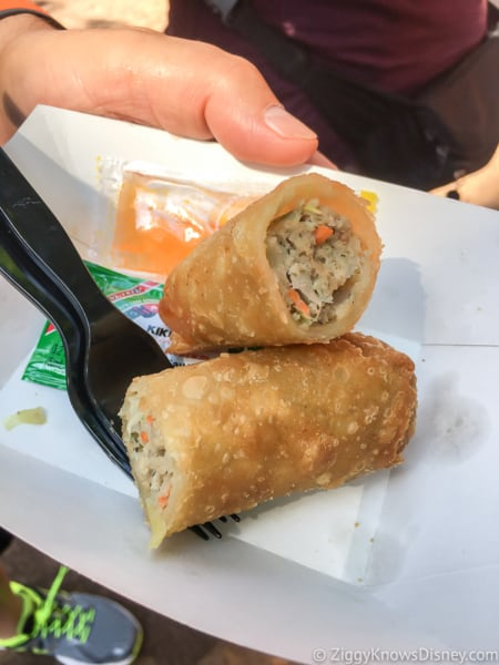 Pork Egg Rolls Best Snacks at Animal Kingdom