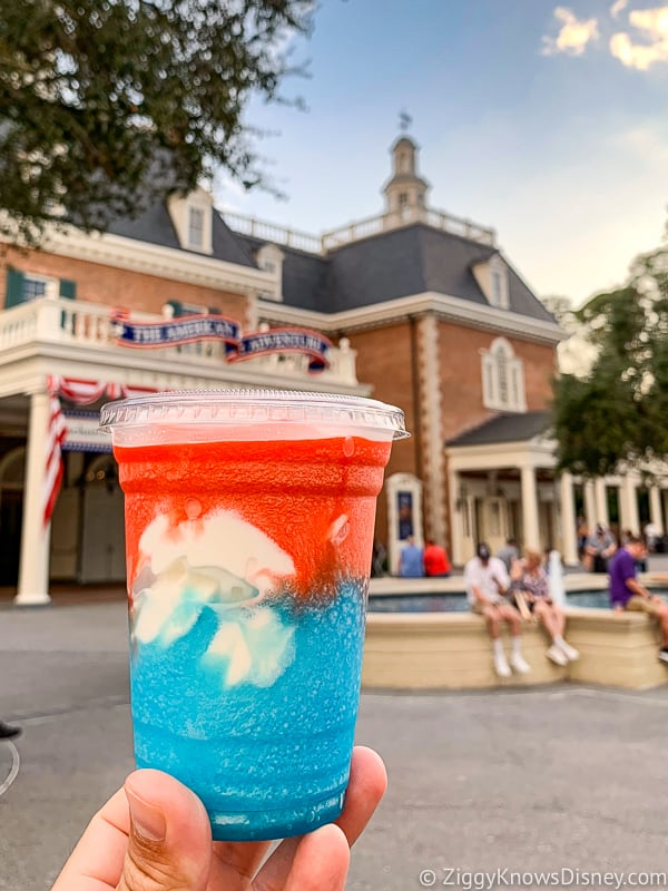 American Dream American Adventure Best Snacks at Epcot