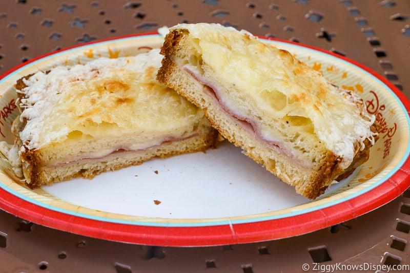 Croque Monsieur France pavilion Best Snacks at Epcot