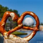 Best Snacks at Epcot Giant Pretzel Germany pavilion