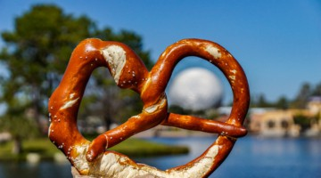 Best Snacks at Epcot Giant Pretzel Germany pavilion