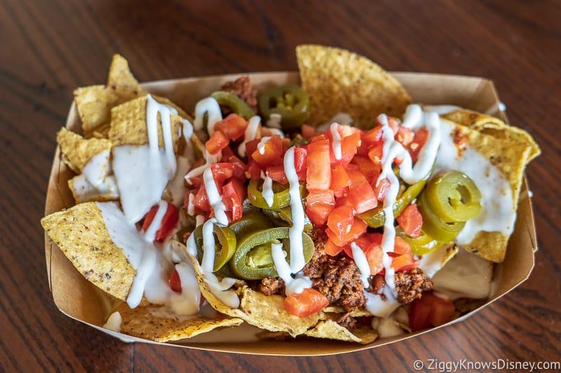 Nachos Mexico pavilion Best Snacks at Epcot