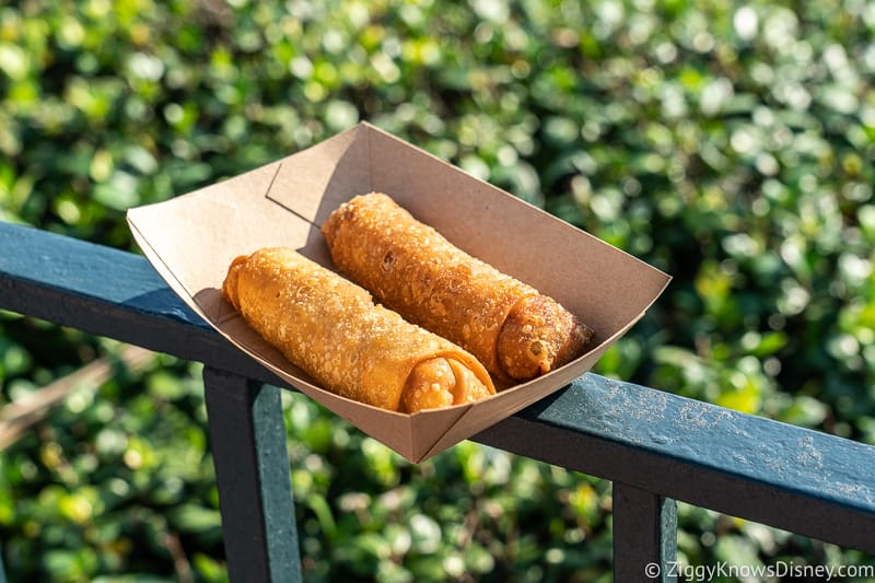 Egg Rolls China pavilion Epcot Best Snacks at Epcot