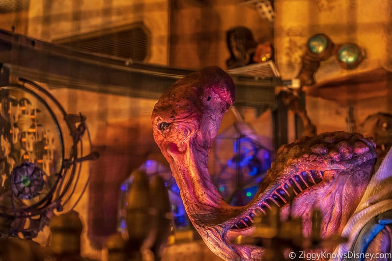 Dok Ondar himself inside Den of Antiquities Galaxy's Edge