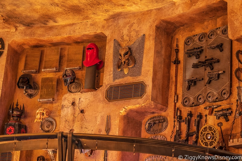 rare artifacts like blasters in Dok Ondar's Den of Antiquities Galaxy's Edge