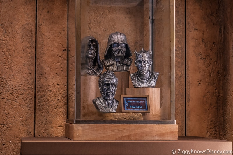 Dok Ondar's Den of Antiquities Merchandise Sith busts