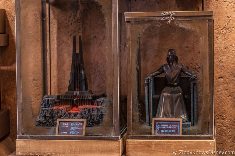 Dok Ondar's Den of Antiquities Merchandise Sith statues