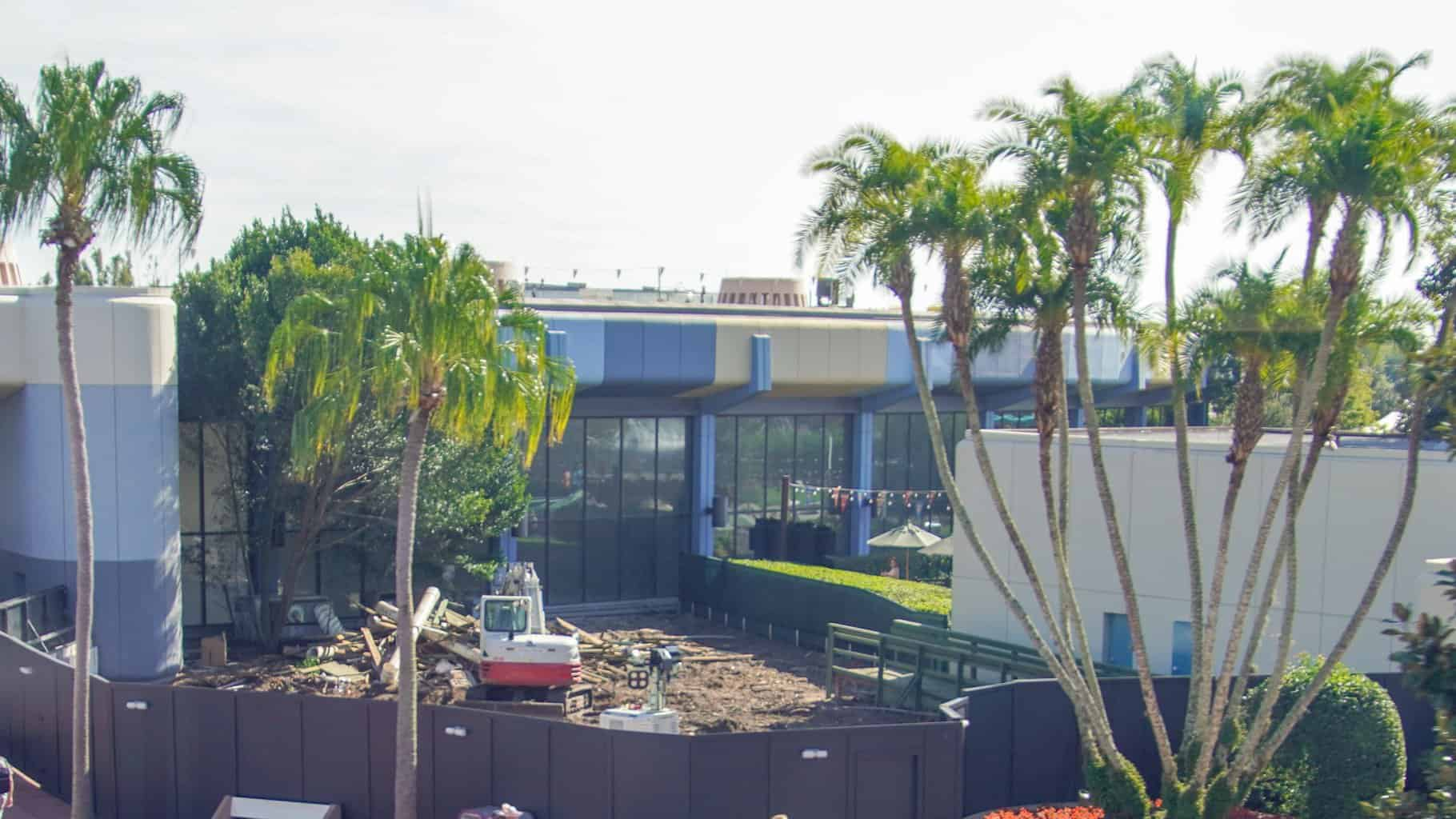 Innoventions West Demolition Epcot Construction Updates November 2019