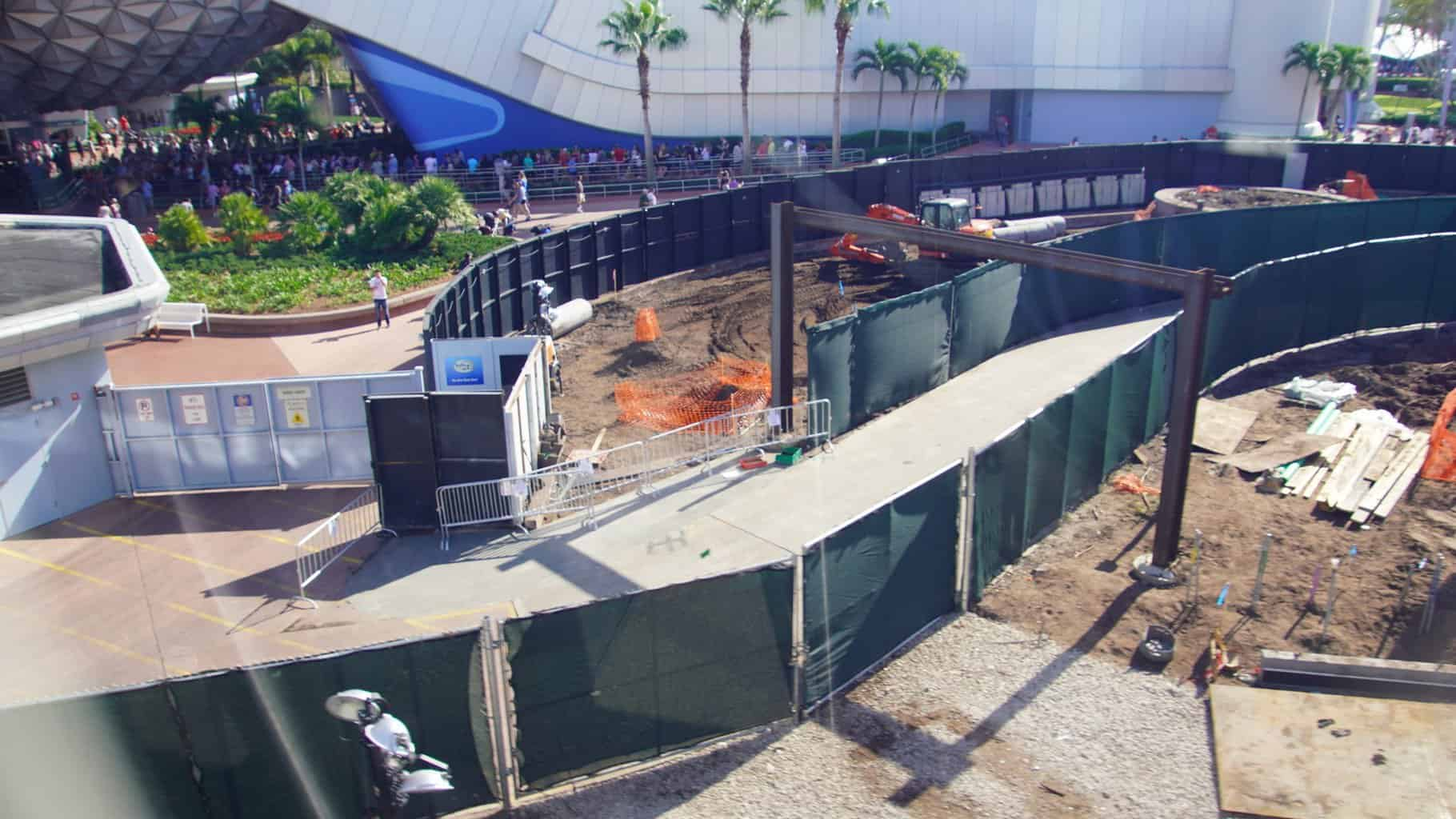 New path Innoventions West Demolition Epcot Construction Updates November 2019