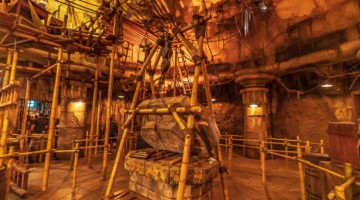 Indiana Jones Adventure refurbishment Disneyland