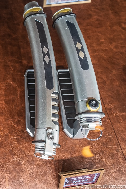 Ahsoka Tano Legacy Lightsaber in Galaxy's Edge Dok Ondar's Den of Antiquities