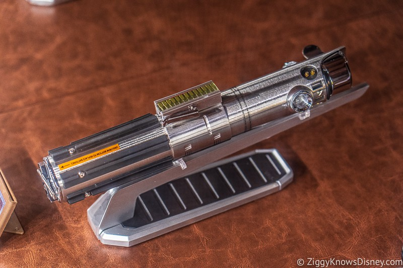 Rey's Legacy Lightsaber from Dok Ondar's Den of Antiquities Galaxy's Edge